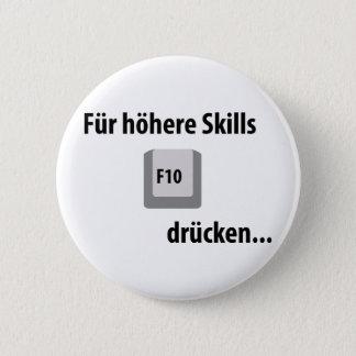 Für höhere Skills F 10 drücken counter strike icon 2 Inch Round Button