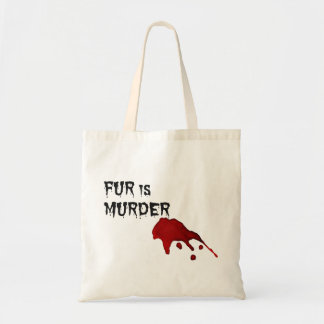 Fur is Murder Tote Bag
