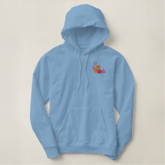 Fur Kids Embroidered Hoodie