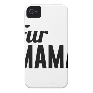 Fur Mama iPhone 4 Cases