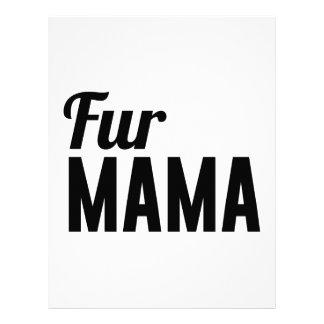 Fur Mama Letterhead