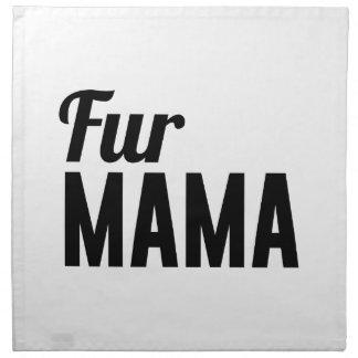 Fur Mama Napkin