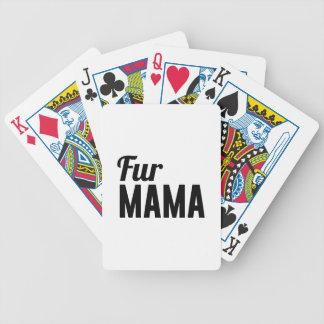 Fur Mama Poker Deck