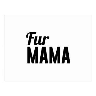 Fur Mama Postcard