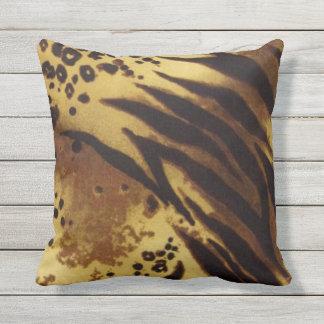 Fur Pattern Throw Pillow