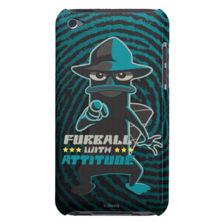 Furball With Attitude Barely There iPod Cover
