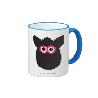 Furby Icon Ringer Coffee Mug