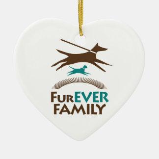 FurEverFamilyPDX Ornament