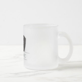 Furies MC Frosted Glass Coffee Mug