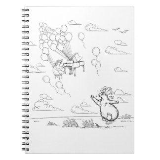 Furious that love floats away notebooks