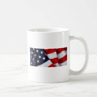 Furled and Folded American Flag Red white Blue Mug