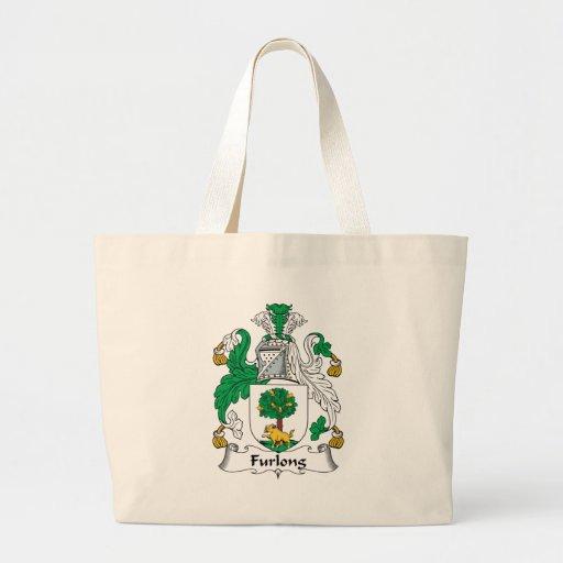 Furlong Family Crest Tote Bags