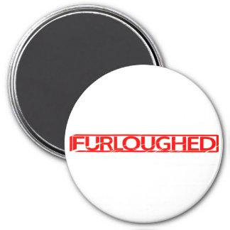 Furloughed Stamp Magnet
