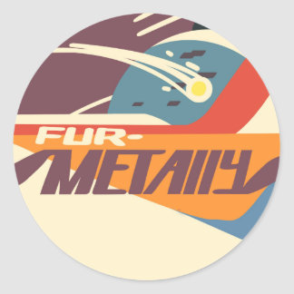"""Furmetally"" sticker"