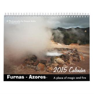 Furnas, Azores - 2015 Calendar