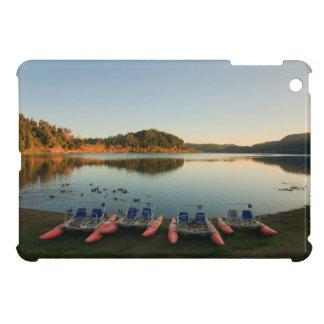 Furnas lake at sunset iPad mini cases