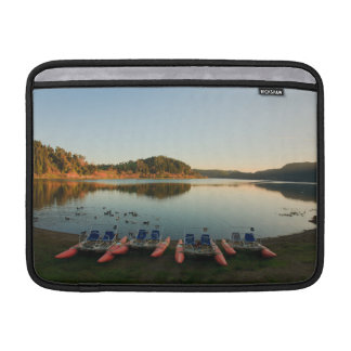 Furnas lake at sunset MacBook air sleeve