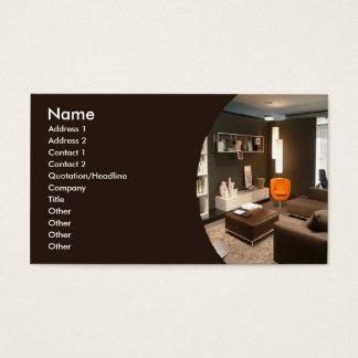 Furniture/Interior Design Business Card