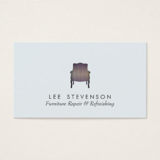 Furniture Repair and Refinishing Business Card