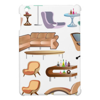 Furniture_Set_Collection iPad Mini Covers