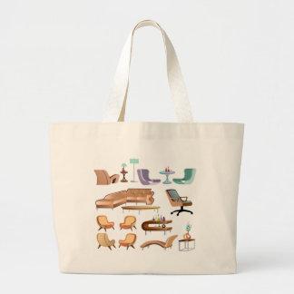 Furniture_Set_Collection Large Tote Bag