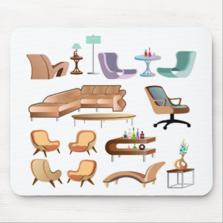 Furniture_Set_Collection Mouse Pad