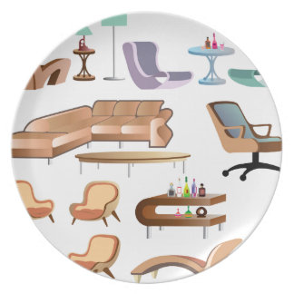 Furniture_Set_Collection Plate