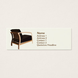 Furniture - Skinny Mini Business Card