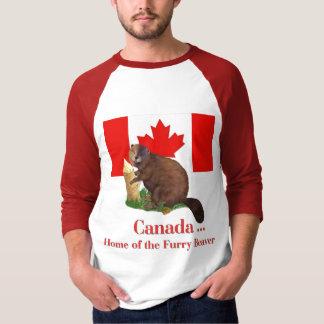 Furry Beaver T-shirts