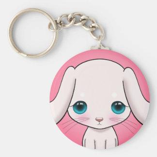 Furry Bunny Keychain