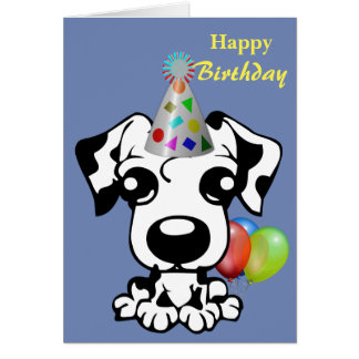Furry Friend Birthday Card