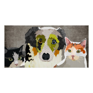 Furry Friends Poster