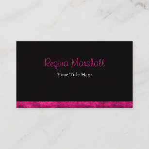Furry business cards profile cards zazzle ca furry hot pink business card reheart Choice Image