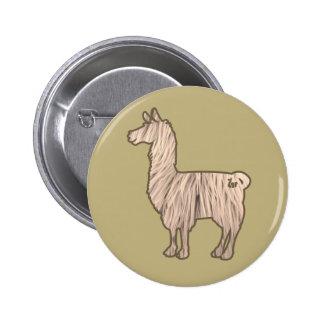 Furry Llama Button