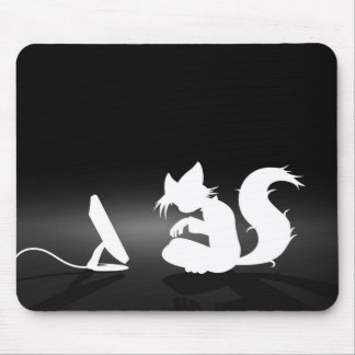 Furry mousepad