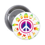furry peace button