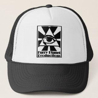 Furry Planet Jump-Off Hat! Trucker Hat