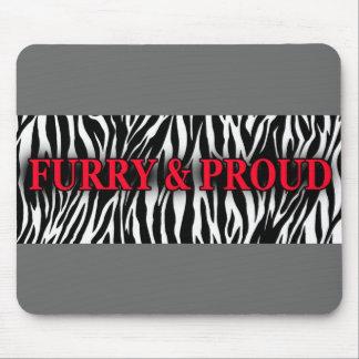 Furry & Proud Mousepad