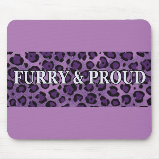 Furry & Proud Mousepad