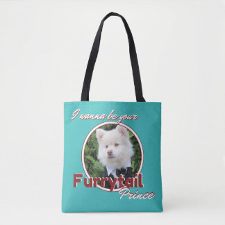 Furrytail Prince All Over Print Tote Bag