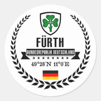 Fürth Classic Round Sticker