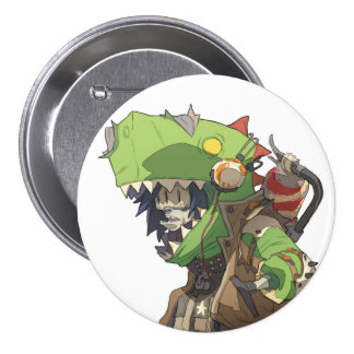 Fury Beats - Tea Wrecks 3 Inch Round Button