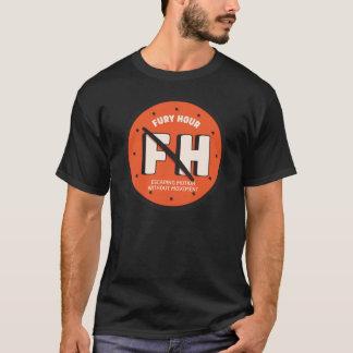 Fury Hour Clock Men's Dark T-Shirt
