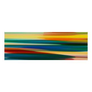 Fury Seascape Panoramic Poster