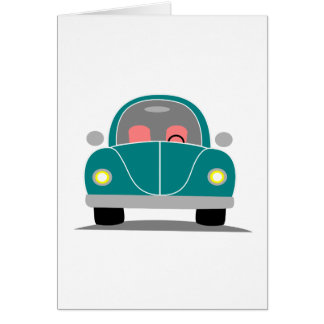 Fusca love card