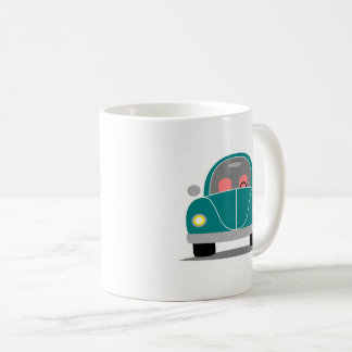 Fusca love coffee mug
