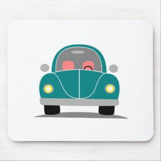 Fusca love mouse pad