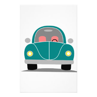Fusca love stationery