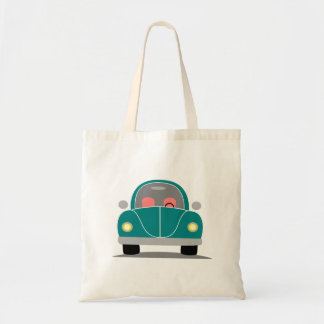 Fusca love tote bag