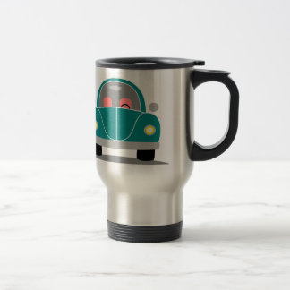 Fusca love travel mug